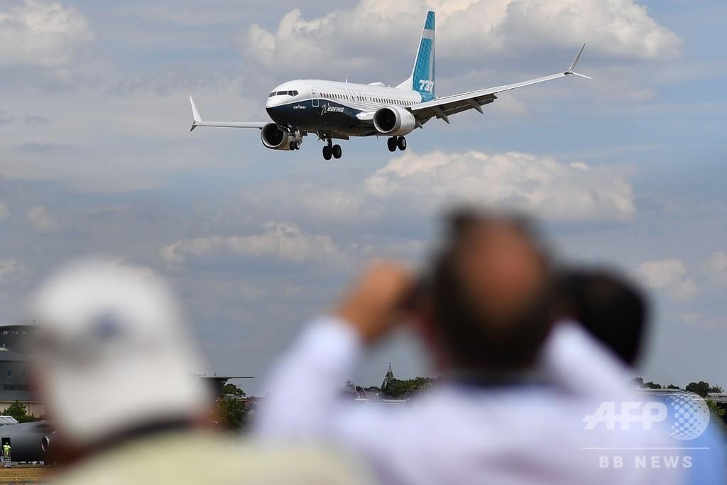 737MAX型機、米国で緊急着陸 乗客なしの自力輸送中