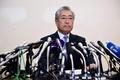 JOC竹田会長が会見、贈賄疑惑関与を否定