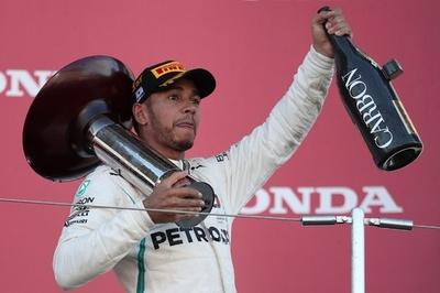 ハミルトンが日本GP制覇、5度目の総合優勝に近づく