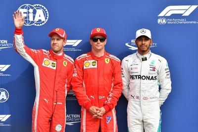 ライコネン、レコード更新でPP フェラーリが地元でフロントロー独占