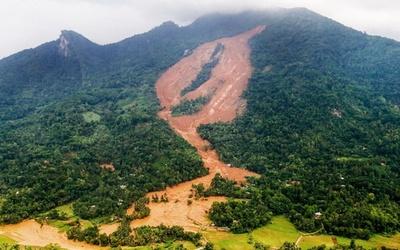 スリランカ豪雨、死者36人に 地滑りの犠牲者は17人