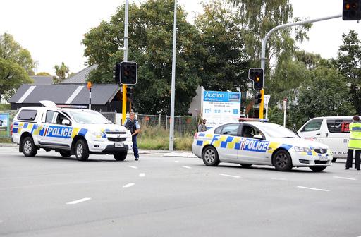 NZ銃乱射、地元警官2人による逮捕劇が脚光浴びる