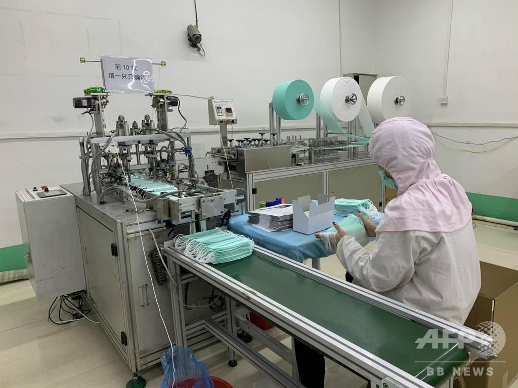 1日で2000万枚の生産が可能も… マスクの品切れ状態続く 中国