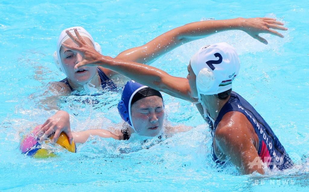 水球韓国女子が0-64で大敗、世界選手権では最多得点差