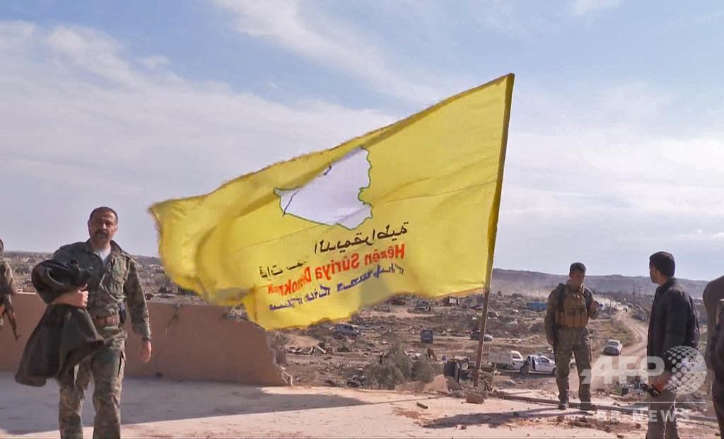 ISの「カリフ制国家」は完全に壊滅、クルド人民兵組織が宣言