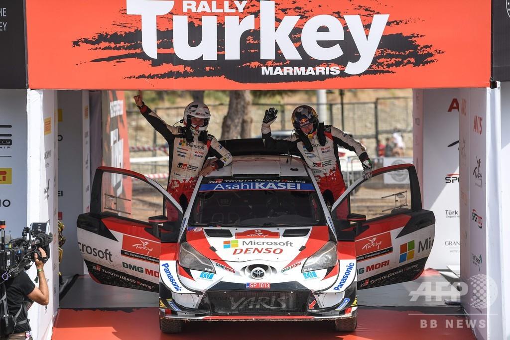 トヨタのエバンス、ラリー・トルコ優勝 WRC総合首位浮上