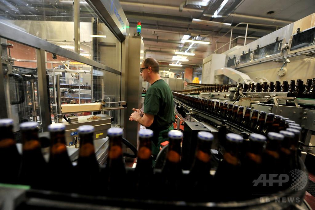 ビールを地下パイプラインで輸送、ベルギー世界遺産の街
