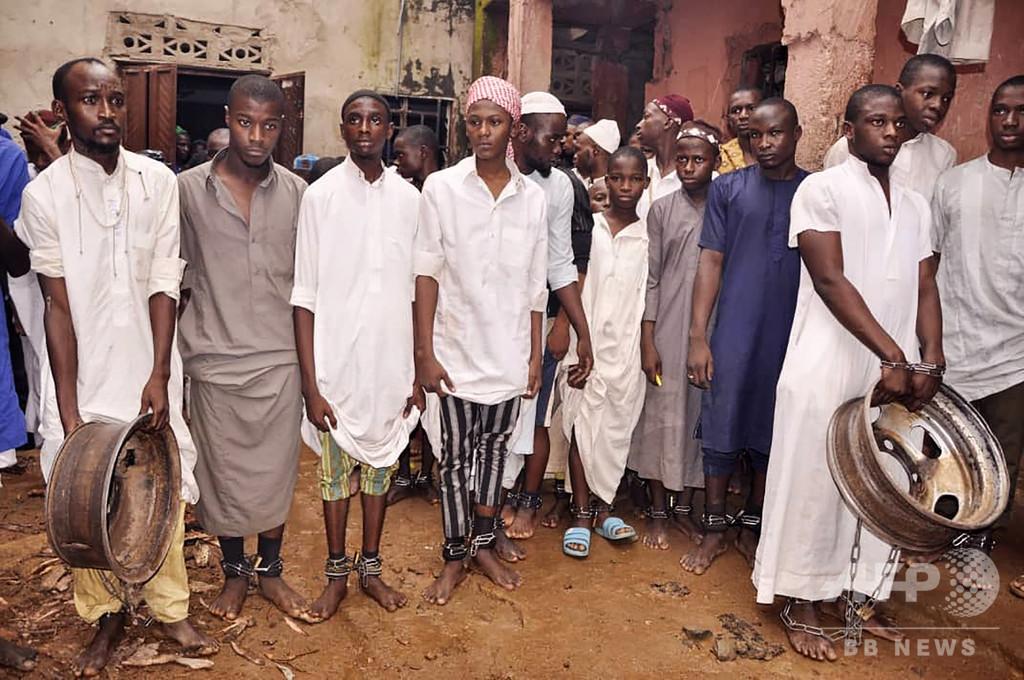 「拷問寄宿学校」から再び学生300人超を救出 ナイジェリア