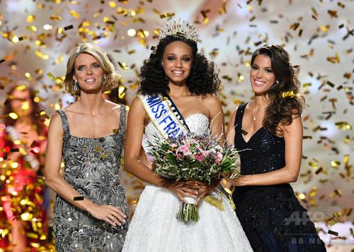 ミス・フランス2017、優勝はアリシア・エリエースさん