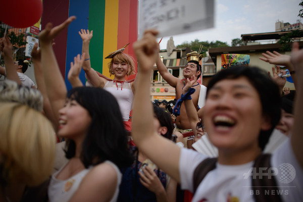 警察のゲイパレード禁止に無効判決、韓国裁判所