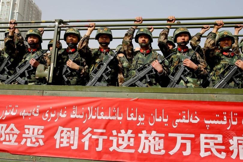ウイグル人のIS戦闘員、中国に対して脅し 「川のように血を流す」