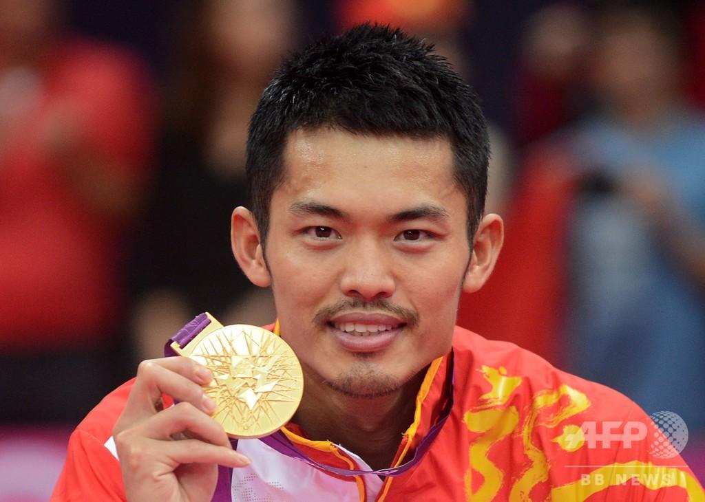 林丹が現役引退を発表 バド男子のスター、2個の五輪金メダル