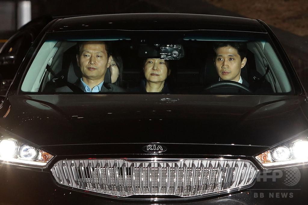 朴前大統領を逮捕、収賄などの疑い 韓国