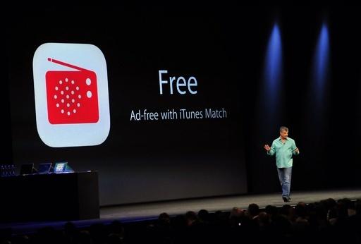 米アップル、新基本ソフト「iOS7」と新音楽配信サービス「iTunes Radio」を発表