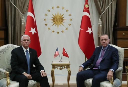 トルコ、シリア停戦に同意 クルド部隊撤退後に作戦終了へ