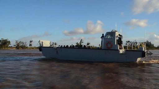 動画:アフリカ南部襲ったサイクロン、インド海軍が支援活動に