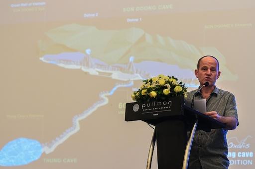タイ洞窟から少年救出したダイバーら、ベトナム洞窟で新たな発見