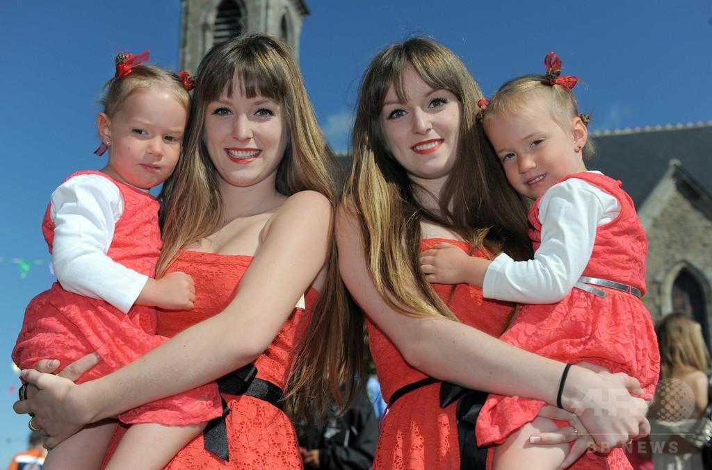 先進国の双生児出産、40年間でほぼ倍増