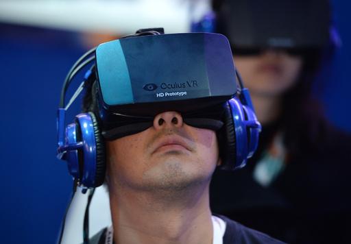 米フェイスブック、VR技術企業を20億ドルで買収