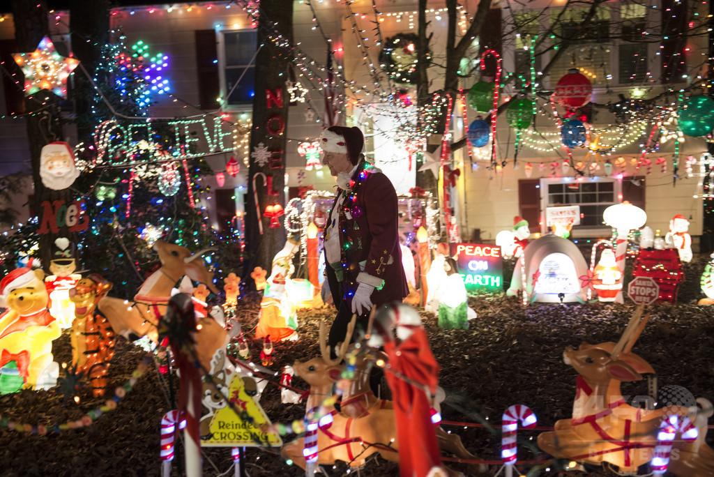 米家庭クリスマス電飾の消費電力量、途上国の年間使用量超える