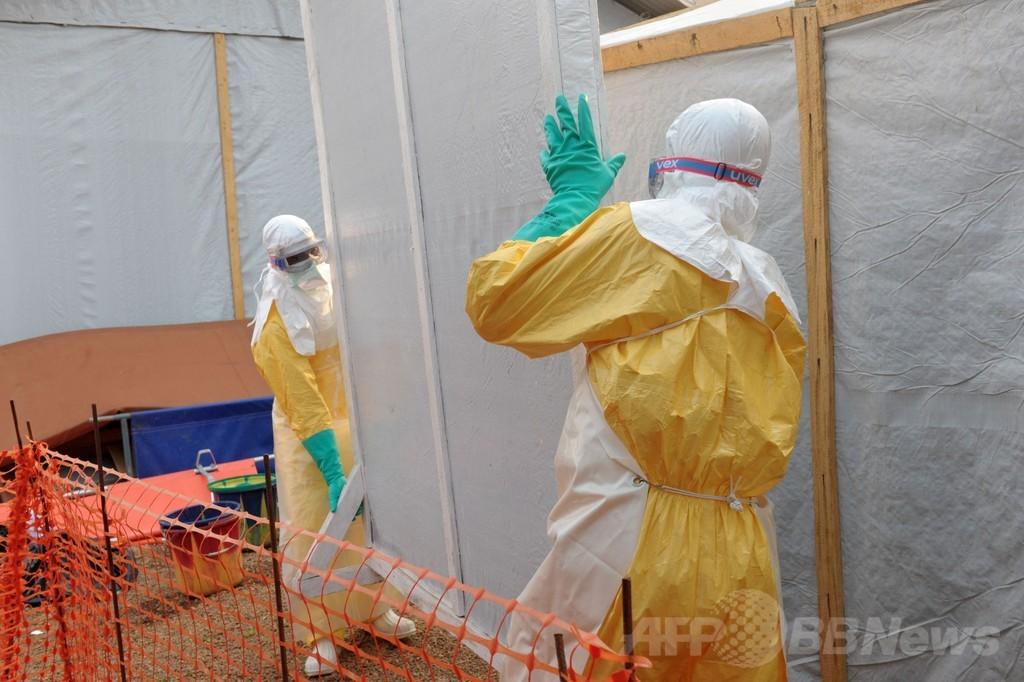 西アフリカのエボラ出血熱、一連の死者111人に