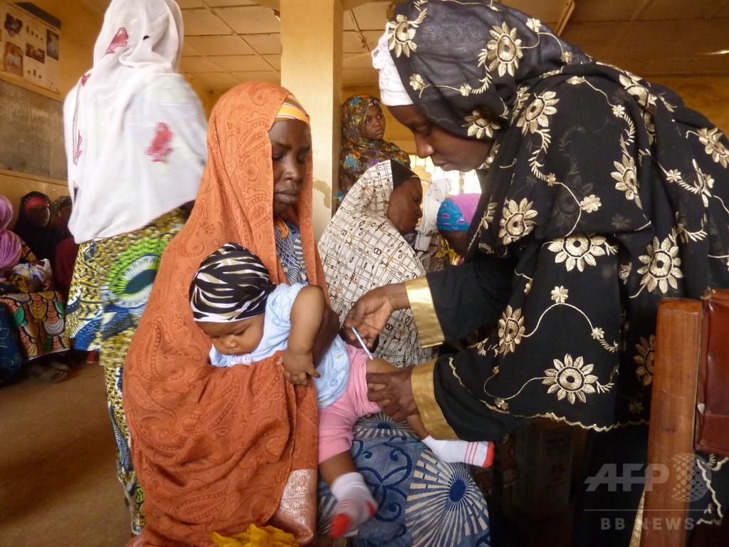 ナイジェリアで2人のポリオ新規患者、WHOが発表 根絶認定遠のく