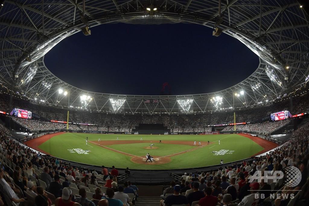 「いつも30点は入らない」、MLBの欧州初上陸は史上まれにみる乱打戦に
