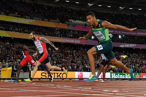 ラグビーで膝負傷のバンニーキルク、手術は成功 男子400m王者