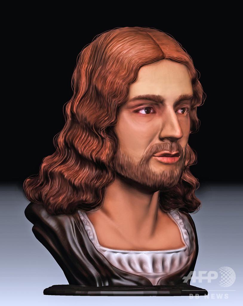 ラファエロの顔、頭蓋骨の石こう像から3Dで復元 埋葬地特定