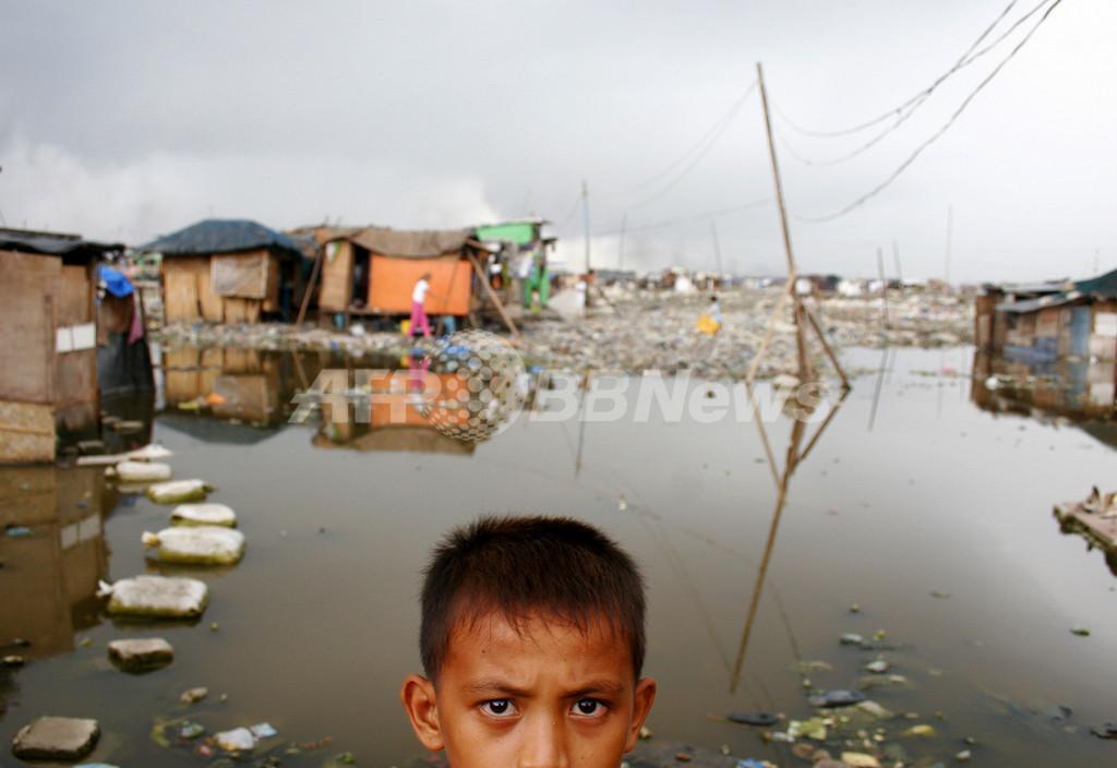 生きるために腎臓を売るフィリピンスラムの住人たち