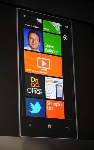 マイクロソフト、スマートフォン向けOS「ウィンドウズフォン7」発表