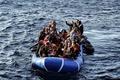 地中海を渡る移民、わずか2か月で11万人超