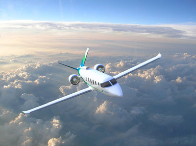 航空産業も温暖化対策、電動航空機を模索