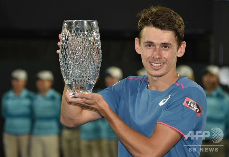 デミノーがシドニー国際制覇、地元でツアー初優勝飾る