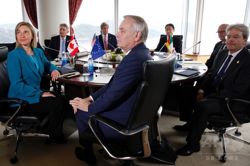 米国務長官が初の広島訪問、G7外...
