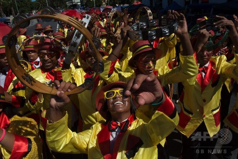 植民地時代から続く伝統のカーニバル、今年も開催 南ア