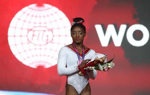 バイルスが世界体操史上最多13個目の金、全個人種目制覇は逃す
