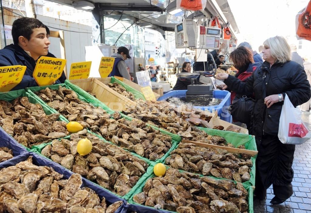 フランスのカキ業界、2年連続減産で壊滅の危機