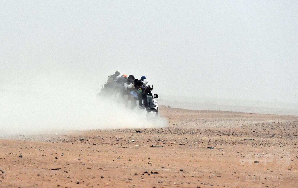 サハラ砂漠に移民置き去り、4月以降で約1000人を保護 UN
