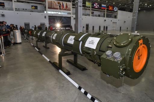 ロシアが巡航ミサイル公開 INF条約の存続目指す