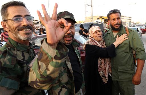ベンガジの「完全解放」を宣言 リビア東部の実力者ハフタル氏