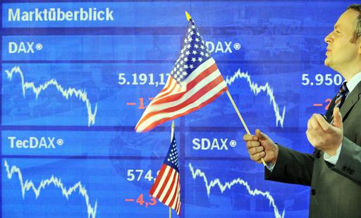 欧米株が急反落、オバマ氏勝利で利益確定売り