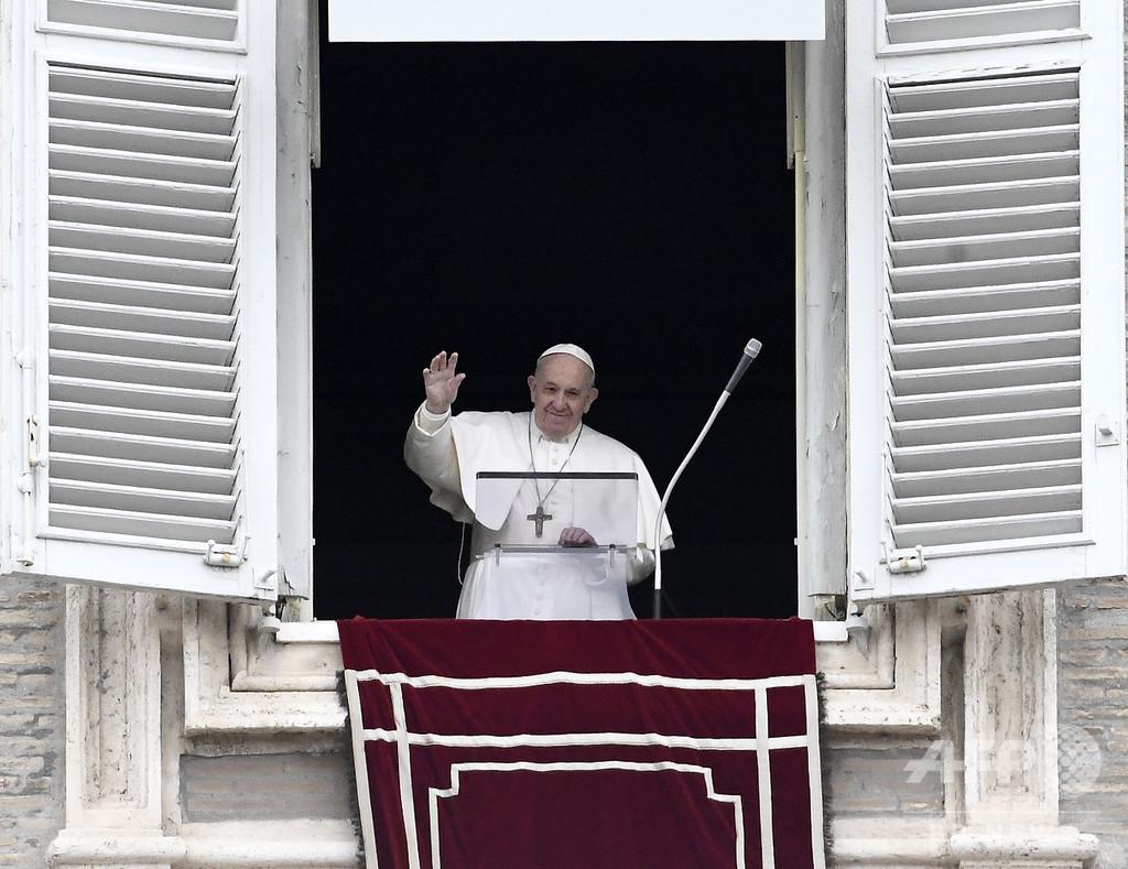 ローマ教皇の日曜日の祈り、新型コロナ対策でネット配信に