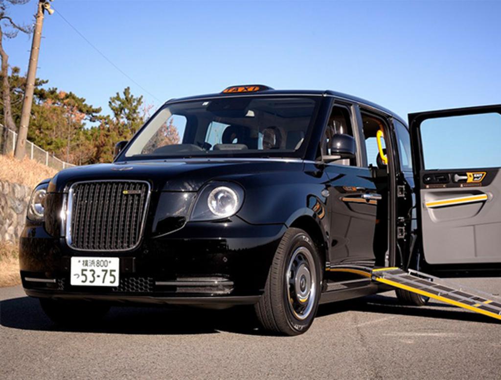 新型ロンドン・タクシーが日本にやってくる!