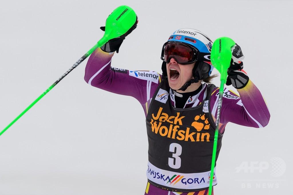 クリストファーセンが男子回転第9戦で優勝、アルペンスキーW杯