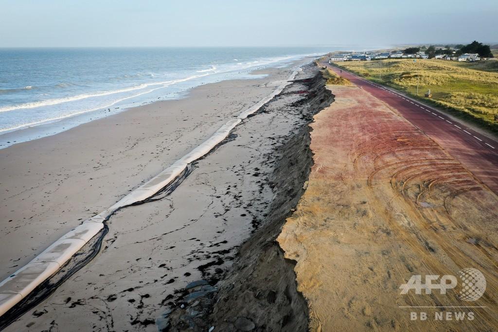 世界の砂浜、2100年までに約半数消滅の恐れ 研究