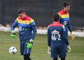 ルーマニア代表、トレーニングウエアの背番号を計算式に変更