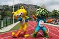 リオ五輪のマスコット、「ヴィニシウス」と「トム」に決定