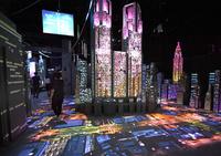 東京の観光名所がテクノロジーアートに、体験型展が開幕 東京