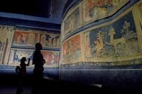ヨハネの黙示録描いた14世紀のタペストリー、修復へ フランス